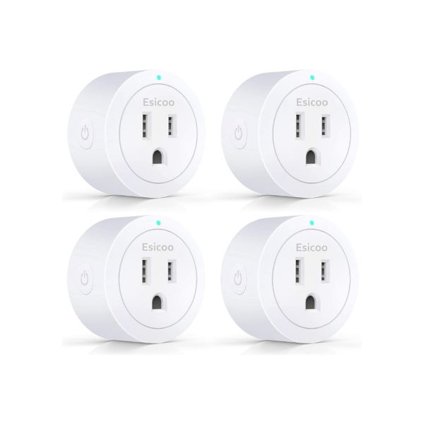 4 WiFi Smart Plugs Via Amazon