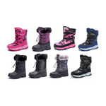Kids Winter Snow Boots Via Amazon