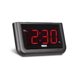 "RCA Digital Alarm Clock - Large 1.4"" LED Display Via Amazon"