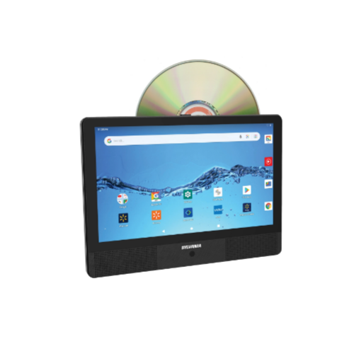 Sylvania 10.1″ Quad Core Tablet/Portable DVD Player Combo, 1GB/16GB Via Walmart