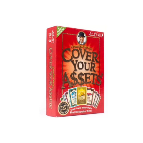 Cover Your Assets Card Game Via Amazon