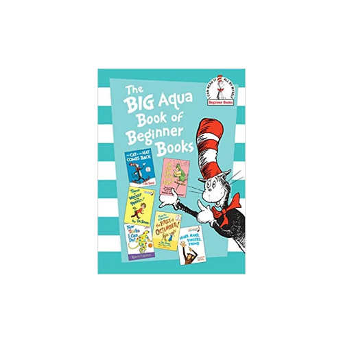 The Big Aqua Book of Beginner Books Hardcover Book Via Amazon