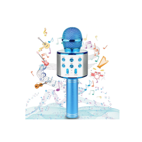 Bluetooth Karaoke Wireless Microphone for Kids Via Amazon