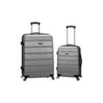 2-Piece Rockland Melbourne Hardside Expandable Spinner Wheel Luggage Via Amazon