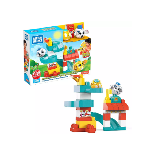 Mega Bloks Peek a Blocks Amusement Park Via Amazon