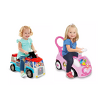 Paw Patroller Ride on Or Disney Magical Castle Deluxe Activity Ride-On Via Walmart