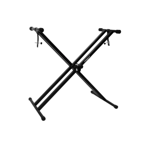 Double Braced X-Style Pro Series Keyboard Stand with Locking Straps Via Amazon