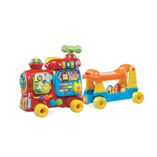 VTech, Sit-to-Stand Ultimate Alphabet Train, Ride-On Train Toy Via Walmart