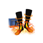 Electric Warm Socks with Rechargeable Battery Via Amazon