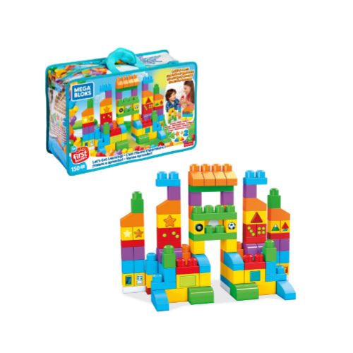 Mega Bloks First Builders Let's Get Learning Via Walmart