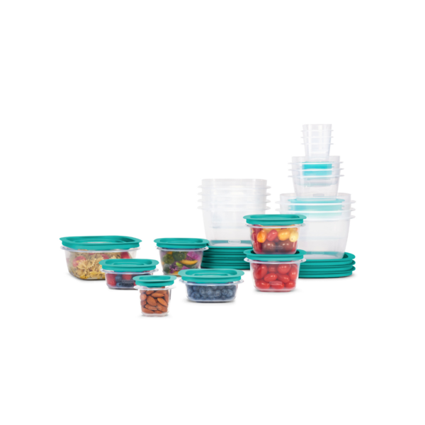 Rubbermaid 42-Piece Press & Lock Easy Find Lids, Food Storage Containers Via Walmart