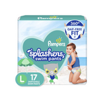 Pack of Pampers Splashers Swim Diapers Via Amazon