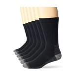 6 Pairs Of Fruit Of The Loom Mens Cotton Socks Via Amazon