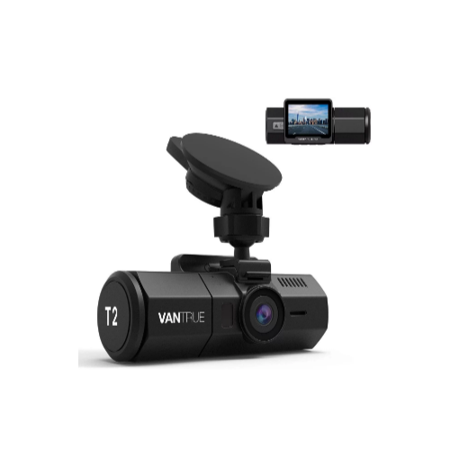 Vantrue T2 1080P 24/7 Recording Dash Cam with Motion Detection Via Amazon