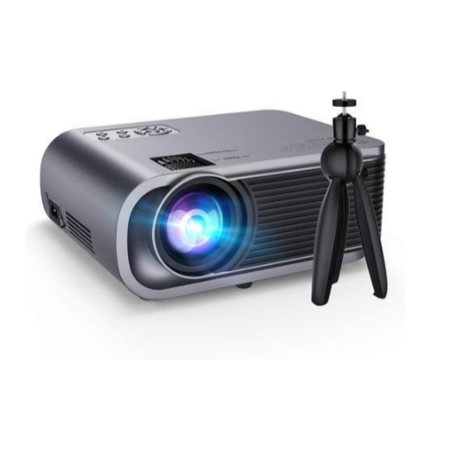 VicTsing Full HD 1080p 5500-Lumens Portable Projector with Tripod Via Amazon