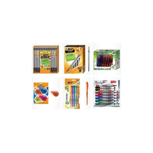 Save up to 35% on BIC writing instruments Via Amazon