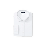 Men's Classic/Regular-Fit Comfort Stretch White Shirt Via Macy's
