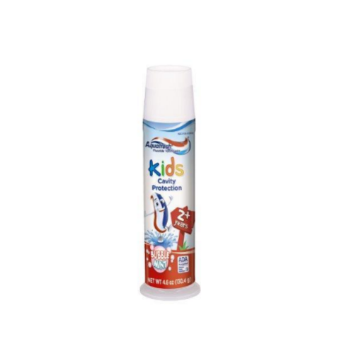 Aquafresh Kids Toothpaste, Bubble Mint, 4.6 Ounce Via Amazon