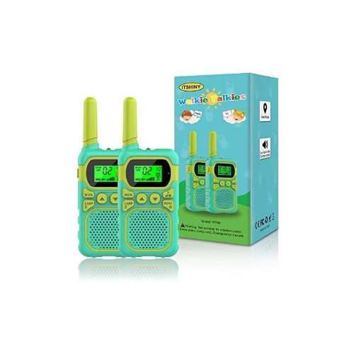 Kids Walkie Talkies with 22 Channels & 3 Mile Range via Amazon