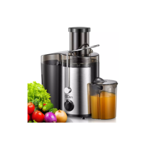 "Centrifugal Juicer Extractor with Wide Mouth 3"" Feed Chute Via Amazon"