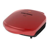 George Foreman 2-Serving Classic Plate Electric Indoor Grill and Panini Press Via Walmart
