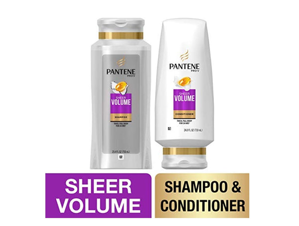 Pantene, Shampoo and Sulfate Free Conditioner Kit Via Amazon ONLY $9.35 Shipped! (Reg $15)