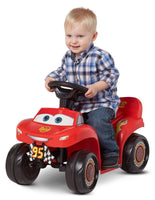 Battery-powered ride-on 6V Cars 3 Lightning McQueen Quad Via Walmart