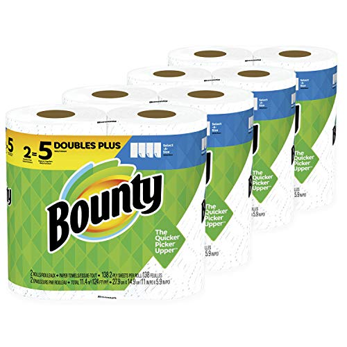 24 Select-A-Size (60 Regular) Rolls Of Bounty Paper Towels Via Amazon