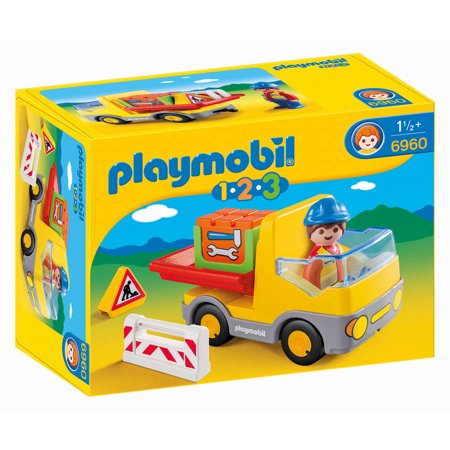 Playmobil Construction Truck Via Walmart