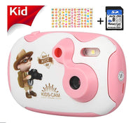 Kids Camera with 8GB Memory Card Via Amazon