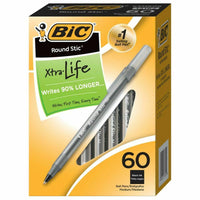 60-Count BIC Round Stic Ballpoint Pens Via Ebay ONLY $1 Shipped! (Reg $7)