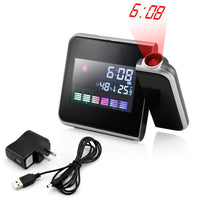 Projection Digital Weather LCD Snooze Alarm Clock Via Ebay ONLY $8.95 Shipped! (Reg $39.99)