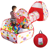 Play Tent Crawl Tunnel Set 3 in 1 Ball Pit Tent Via Ebay SALE $20.98 Shipped! (Reg $39.99)
