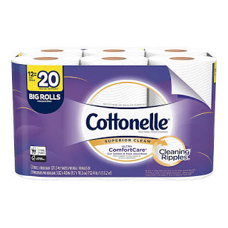 Cottonelle Ultra ComfortCare Toilet Paper, 12 Big Rolls Via Amazon