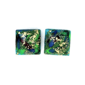 Large Square Studs