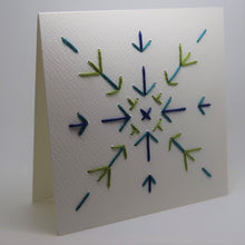 Load image into Gallery viewer, Embroidery_Snowflake 2