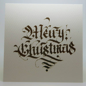 Merry Christmas_Square_Calligraphic style