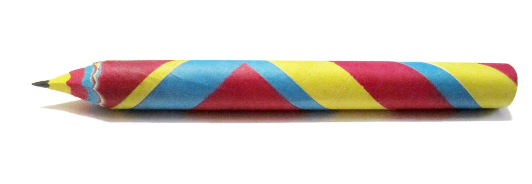 Coloured Paper Pencil (Single)