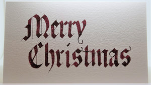 Merry Christmas_Gothic_Brown