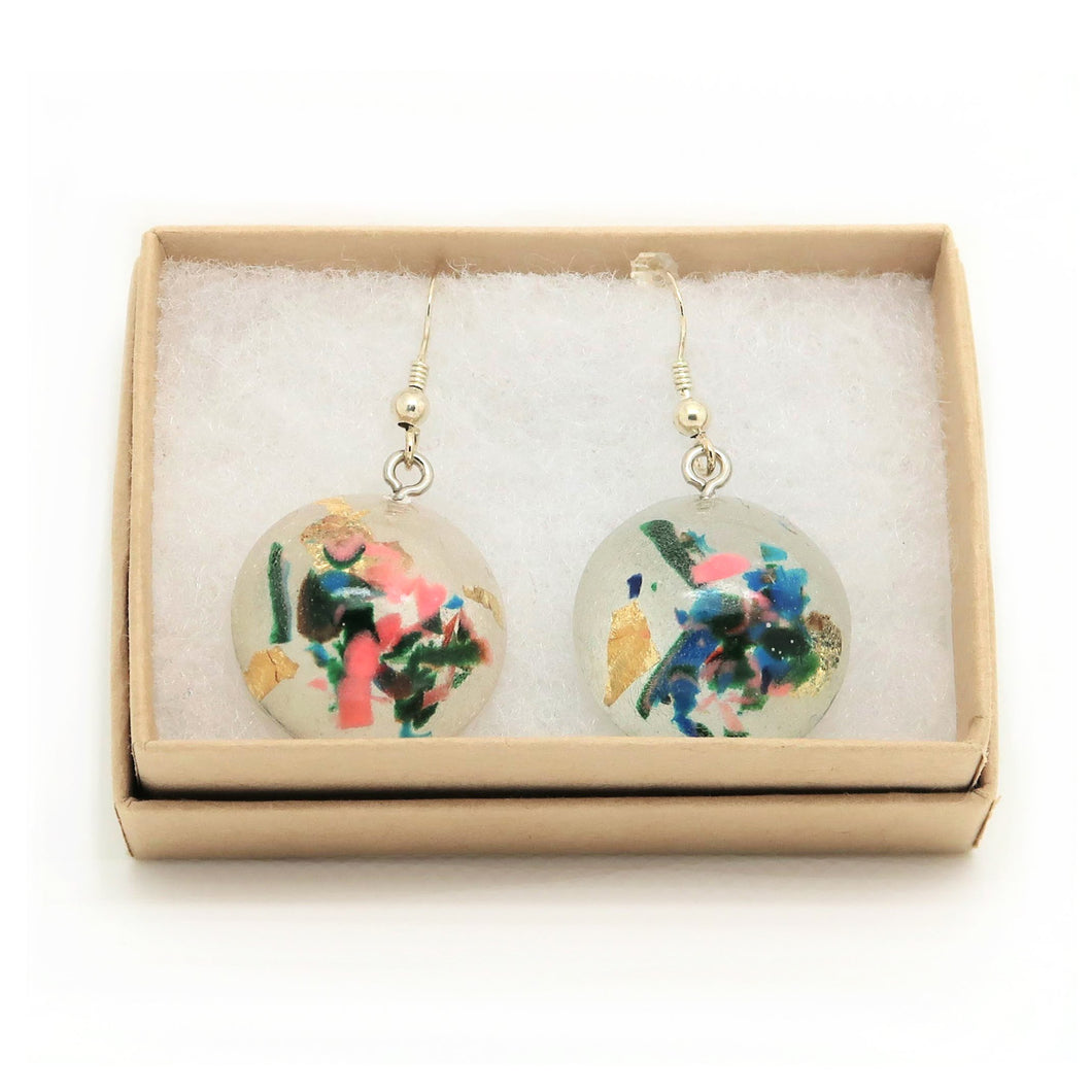 Dome Hook Earrings