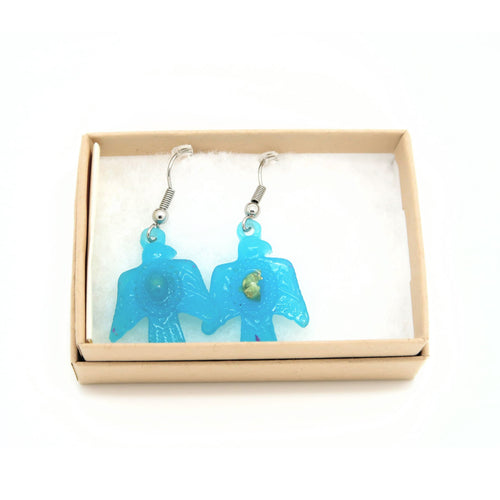 Bird hook earrings