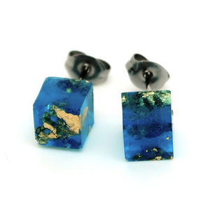 Small Cube Studs