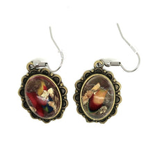 Load image into Gallery viewer, Oval Hook Earrings