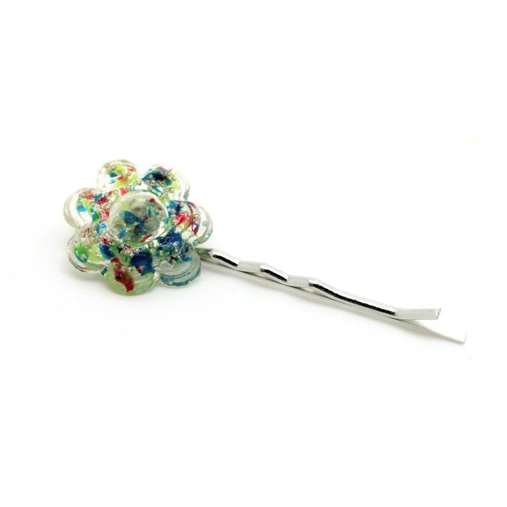 Button Hairpin