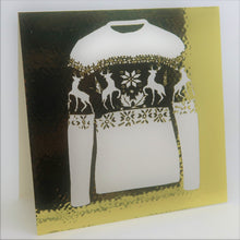 Load image into Gallery viewer, Christmas Jumper_Gold 2