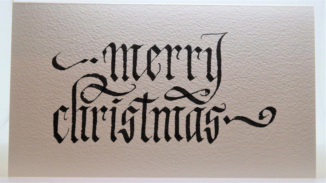 Merry Christmas_Calligraphy curls_Black