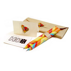 GIFT: Coloured Paper Pencils