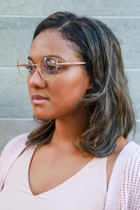 SHIRLEY | Pink - Gleam Eyewear | Blue Blocking Glasses