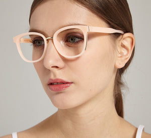 ADA I Pink - Gleam Eyewear | Blue Blocking Glasses