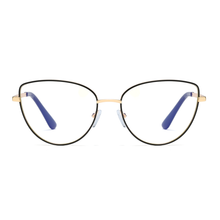 Load image into Gallery viewer, SHIRLEY | Black - Gleam Eyewear | Blue Blocking Glasses